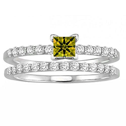 1.25 Ct Citrine Diamond - 1
