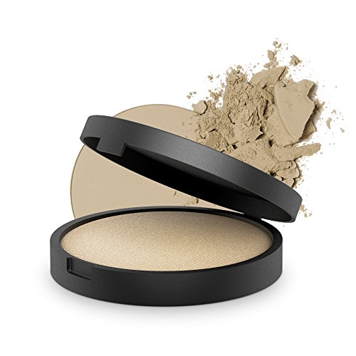 INIKA Baked Mineral Foundation Powder All Natural Make-up Base , Vegan, Hypoallergenic , Dermatologist Tested , 8g ()