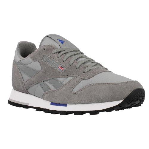 Reebok , Baskets mode pour homme Grey/Flat Grey/White/Silver