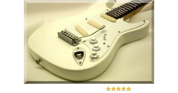 JIMI HENDRIX Miniatura Guitarra WHITE: Amazon.es: Instrumentos ...