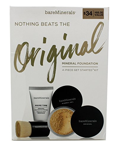 Bare Minerals Nothing Beats The Original Get Started Set Light 08 4pc Set Set ()