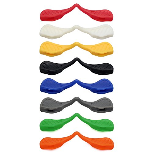 Plaquettes nez Path pour Oakley lunettes MRY EV de rechange soleil Radarlock Orange Radar de de 1xCqwR