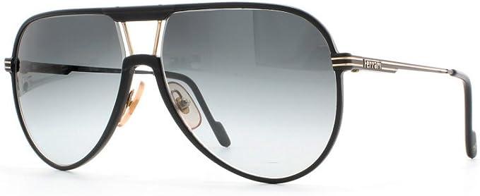 Amazon Com Ferrari 29 12a Black Certified Vintage Aviator Sunglasses For Mens Clothing
