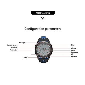 NO.1 F3 Sports Smartwatch Dial Giratorio 30m Reloj de natación ...