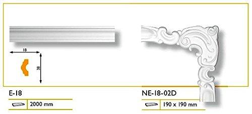 02D 1/Set segments pour barre de 18/segments ne dangle /électronique 18 1/Set//–/4/segments