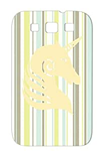 Anti-shock Yellow Miscellaneous Unicorn Blackcat2 Animals Nature Unicorn2 Cover Case For Sumsang Galaxy S3