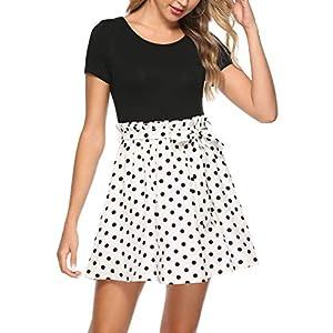 Summer Flared Mini Dress