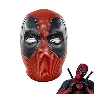 Hpparty máscara de Deadpool película cosplay Halloween disfraz ...