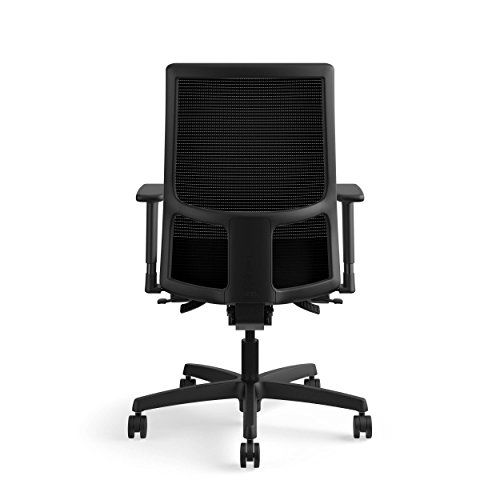 Amazon.com: HON Ignition Series Mid Back Work Chair   Mesh Computer Chair  For Office Desk, Black (HIWM2): Kitchen U0026 Dining