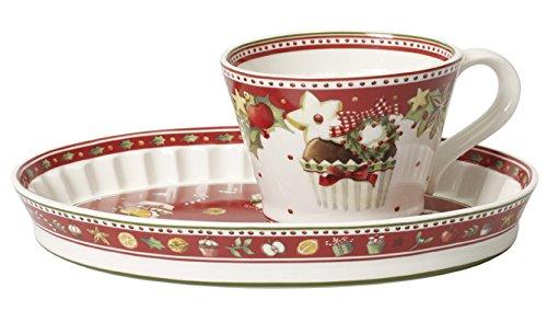Villeroy & Boch Winter Bakery Delight Cupcake-Tasse m.Unt.2-tlg 14 ...