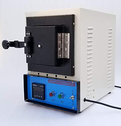 Yantra Digital Muffle Furnace Rectangular Lab Science Heating Equipment 220V Max Temp 900 Degree Celcius