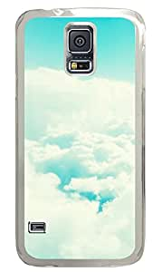 Samsung Galaxy S5 Cases & Covers - Beautiful White Clouds PC Custom Soft Case Cover Protector for Samsung Galaxy S5 - Transparent
