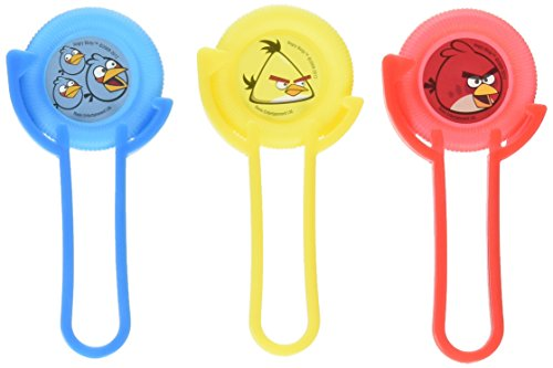 Amscan 12 Count Angry Birds Disc Shooters (Party Favors Angry Birds)