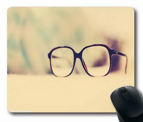 Mouse Mat,Eyeglass frame as Office Computer Mouse Pad,Custom Mouse (220 Eyeglasses)