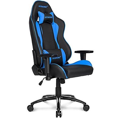 Akracing Nitro Ak Nitro Bl Silla Gaming Color Negro Azul
