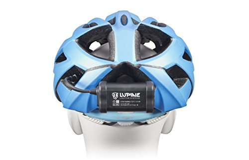 Lupine Lighting Systems Piko R 4 1800 Lumen 3.3 Ah hardcase battery with velcro, helmet mount with velcro, Wiesel charger, 120cm extension cable, Bluetooth Remote + mount (2018 Model) by Lupine Lighting Systems (Image #2)