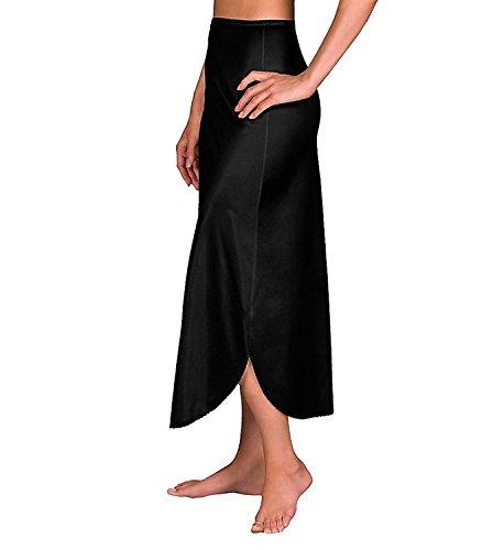 Velrose Daywear Double Slit 1/2 Slip (2116) M/Black