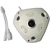 PWRGLXY 960P IR Network 3D panoramic VR camera Office Security CCTV System PLA/NTSC Surveillance HA-WY05
