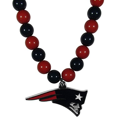 Siskiyou NFL New England Patriots Fan Bead Necklace -