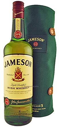 Image Unavailable. Image not available for. Colour: Jameson Irish Whisky Cooper Roll Gift Set 70cl