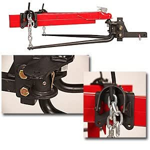 Weight Distribution Distributing Equalizer Hitch Trailer Towing Sway Control