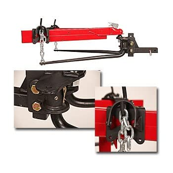 EAZ LIFT 48069 1200 lbs Elite Kit Includes Distribution Sway Control and 2-5//16 Hitch Ball-1,200 lbs Tongue Weight Capacity 48069