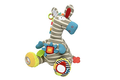 Plush Baby Zebra - Dolce Activity Zebra Plush