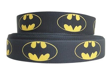 1 m x 22 mm BATMAN SUPER héroe CHARACTER groguén de pastel ...