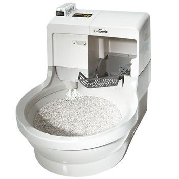 CatGenie Self Washing Self Flushing Cat Box 4105HiaSH0L