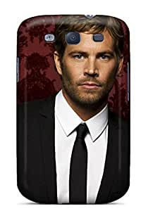 WonderTree Scratch-free Phone Case For Galaxy S3- Retail Packaging - Paul Walker With Suit