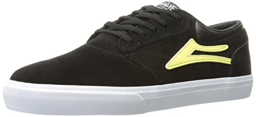 Zapatillas Lakai: Griffin Black/Yellow Suede BK Negro