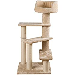 TRIXIE Pet Products Tulia Senior Cat Scratching Post, Beige