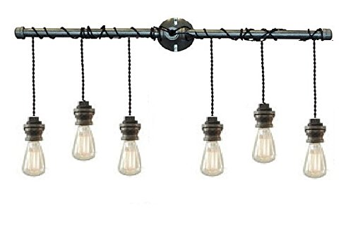 Steel Pendant Vanity Light