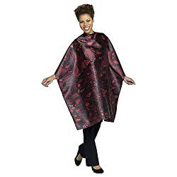 Andre Picasso Styling Cape, Black/Red