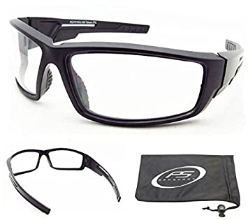 clear sports glasses  Amazon.com: Clear Sport Sunglasses with Impact Resistant ...