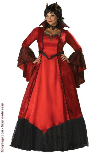 Devil's Temptress Costume - XXX-Large - Dress -