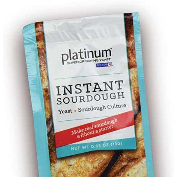 Platinum Instant Sourdough Yeast 1 Packet Grocery Gourmet Food