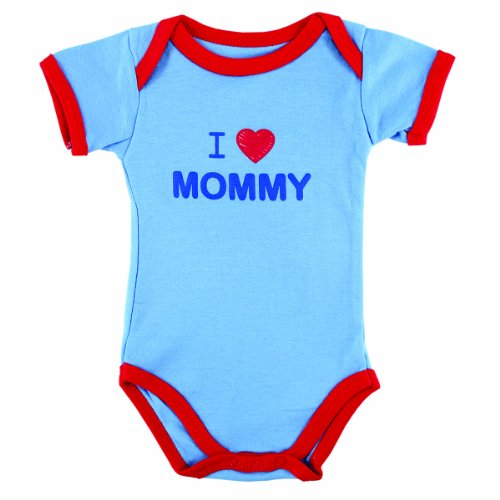 Baby Sayings Bodysuit, I Love Mommy, 0-3 Months
