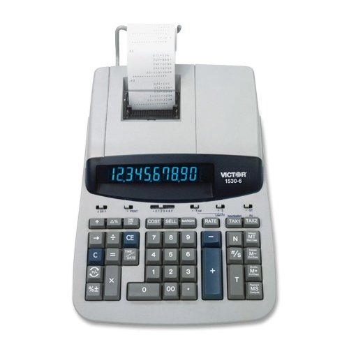 Wholesale CASE of 2 - Victor 10-Dgt Loan Wizzard Prof. Calculator-10-Digit Calculator,2-Clr Printing,8-3/4''x12-1/2''x2-3/4'',GY by VCT