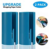 Segulife Wrapping Paper Cutter Mini Portable Small Utility Wrapped Carton Paper Cutter(2 Pack) (Blue)