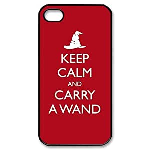 Diy Case Harry Potter Iphone 4/4S Case Hard Case Fits Sprint, T-mobile, AT&T and Verizon IPhone 4s Case 101575