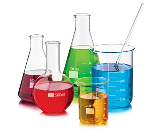 Libbey 6 Piece Chemistry Bar Mixologist Set, Clear