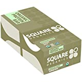 Squarebar Organic Protein Bar Chocolate coated Almond spice, 1.7-ounce Bars (Pack of 12)