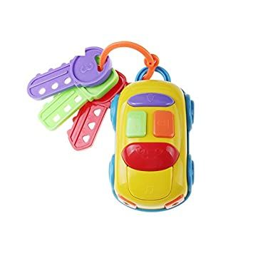 Amazon Com Music Car And Key Toy Flash Music Car Keys Baby Toys