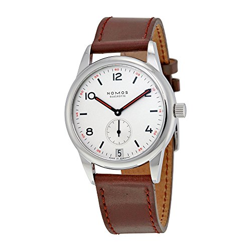Nomos Club Datum White Dial Stainless Steel Mens Watch 733