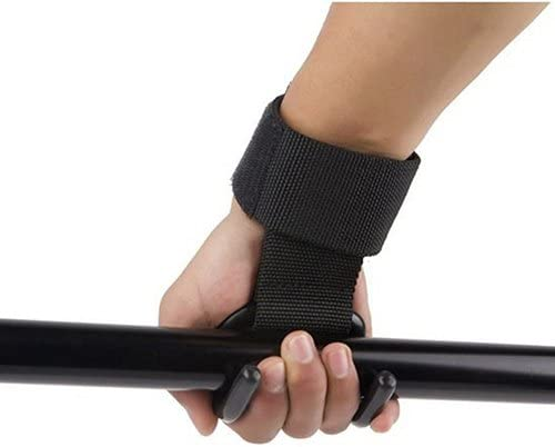liyhh Strong Pro Weight Lifting Training Sports Gym Hook Grip Strap Glove Wrist Support