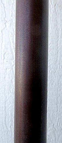Mahogany Stained Bamboo Pole, 1