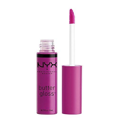 NYX Professional Makeup Butter Gloss, Raspberry Tart, 0.27 F