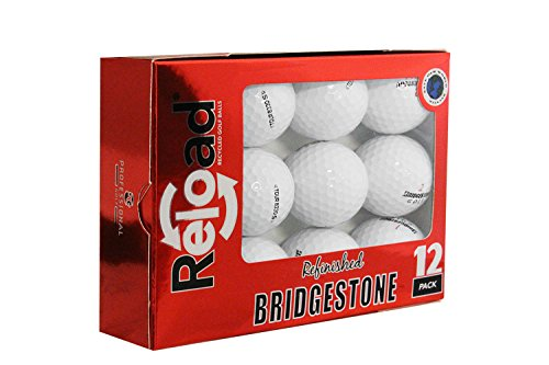 Bridgestone Reload Recycled Golf Balls B330-S Renewed Golf Balls (12 Pack) (Renewed)(package may vary)