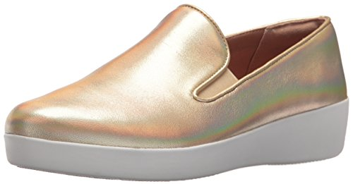 FitFlop Women Superskate Sneaker Gold Iridescent